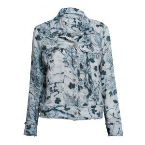 Linen Jacket Tree Silhouette