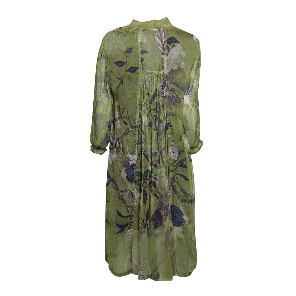 Mary Silk Dress Ibis Back