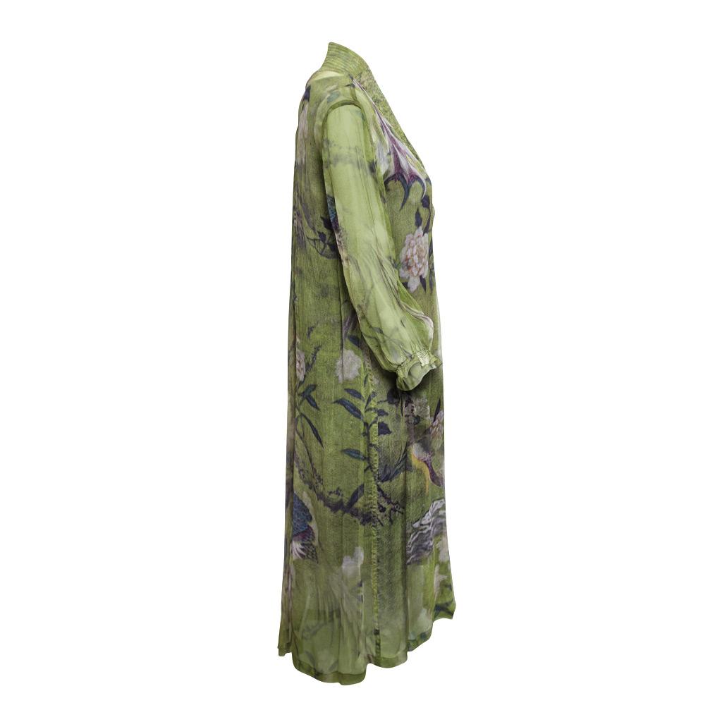 Mary Silk Dress Ibis Side