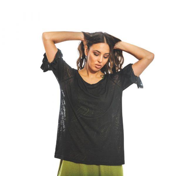 June black T-shirt