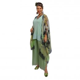Carmen Silk Kaftan Waterfall