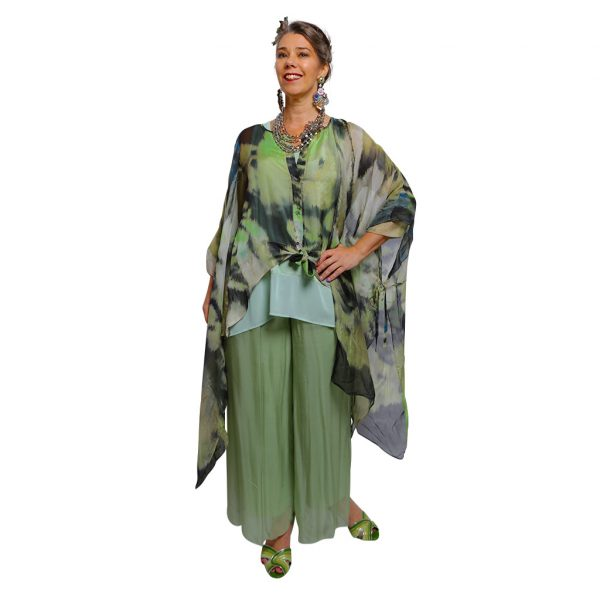 Silk Kaftan Waterfall