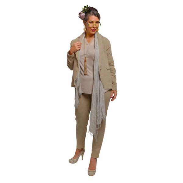Camel Linen Outfit