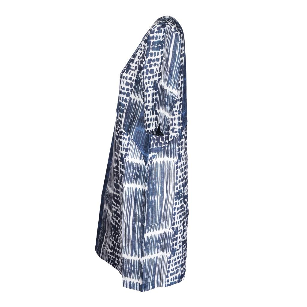 QOE 7006 LEXI LINEN TAB SLEEVE DRESS URBAN S